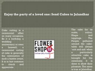 Send Flowers to Jalandhar | Send Cakes to Jalandhar | Florist in Jalandhar