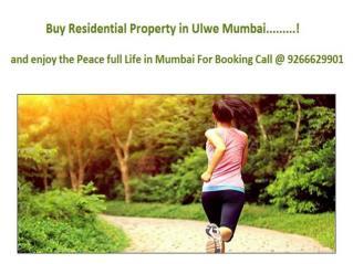 Residential Property in Ulwe Mumbai @ 9266629901