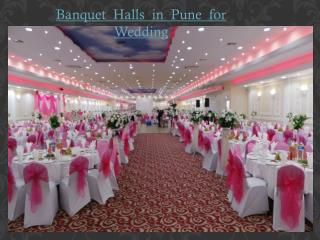 Banquet Halls in Pune for Wedding