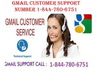 Gmail Technical Support Number 1-844-780-6751
