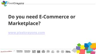 Do you need E-Commerce or Marketplace?