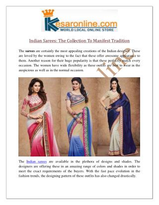 Indian Sarees Online UK | Indian Designer Sarees