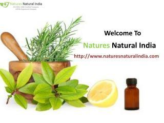 Buy natural essential oils at naturesnaturalindia.com!!