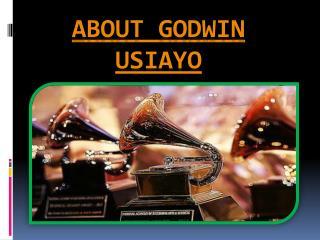 About Godwin Usiayo