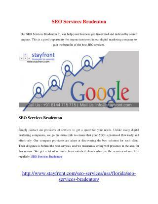 SEO Services Bradenton