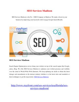 SEO Services Madison