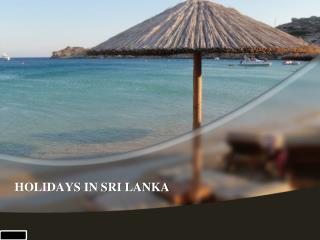 Sri lanka tour operators