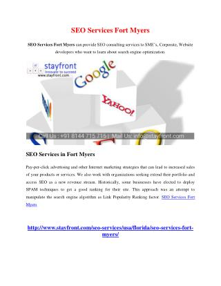 SEO Services Fort Myers