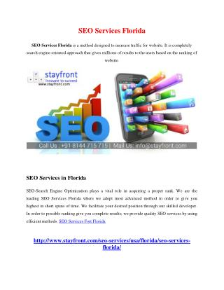 SEO Services florida