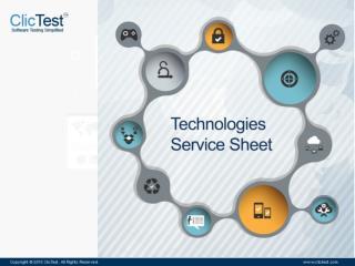 ClicTest Service Sheet