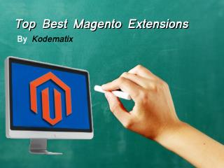 Top Best Magento Extensions