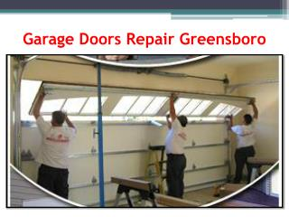 Garage Doors Repair Greensboro