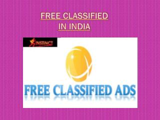 Free Classified in India