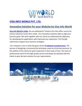 visa info world in india-visainfoworld.com