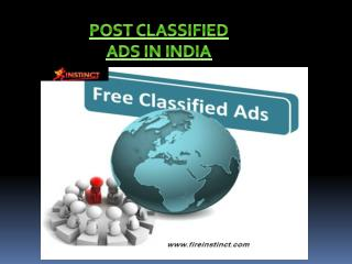 Post Classified Ads in India