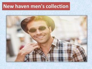 New haven men's collection
