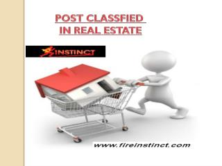 Free Classifieds in Real Estate