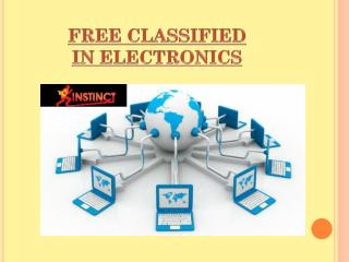 Free Classifieds in Electronics