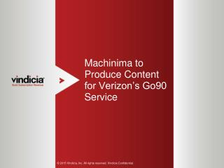 Machinima to Produce Content for Verizon's Go90 Service