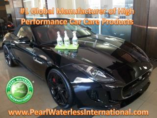 The High Performance Car Care Products Pearl Waterless
