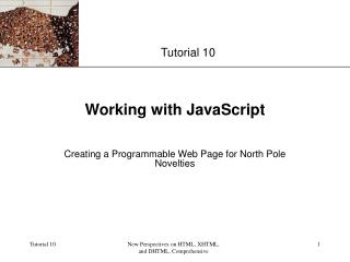 Working with JavaScript