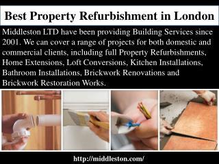 Best Property Refurbishment in London