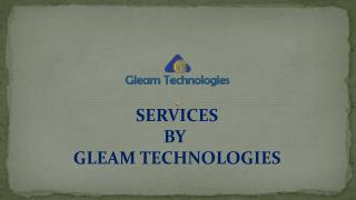 Services By Gleam Technologies