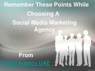 Find a  Digital Social Media Agency With These Important Tips