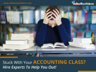 Pay Someone to Take My Online Accounting Class - Find Homework Helpers