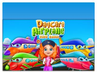 Daycare Airplane Game for Kids