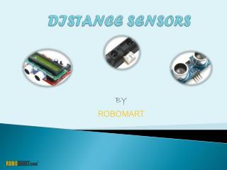 Distance Sensors - Robomart