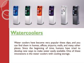 Water Coolers In The Office