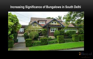 Bungalows in South Delhi for Sale