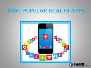 Most Popular Health Apps