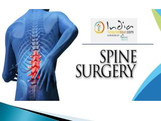Best treatment for spine surgery in India