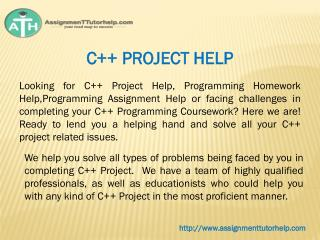 C   PROJECT HELP