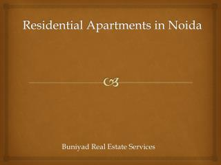 Residential Apartment for Sale in Noida