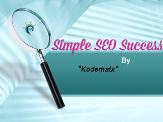 Simple SEO Success
