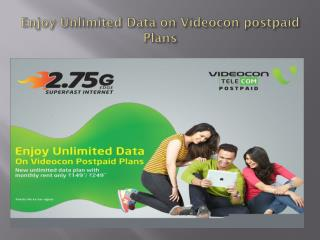 Videocon Unlimited Postpaid Plans