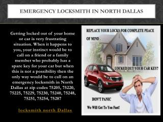 Locksmith North Dallas