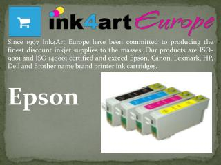 Compatible Epson Inkjet Cartridges