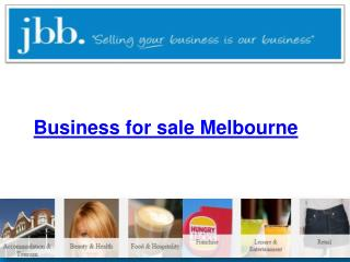 Business for sale Melbourne