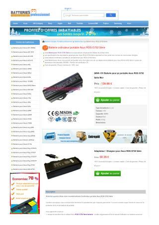 Batterie Asus ROG G752 S�rie