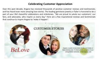 Celebrating Customer Appreciation | Angara.com Jewelry Blog