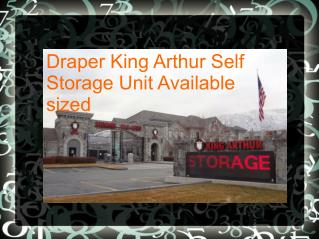 This is a Storage Facility Sizes in Draper