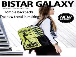 Zombie backpacks – The new trend in making