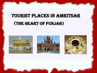 Tourist Places in Amritsar