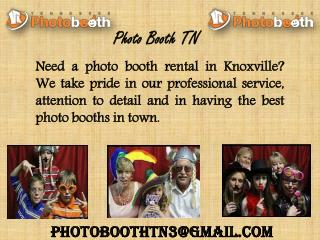 Photo Booth Rental in Knoxville