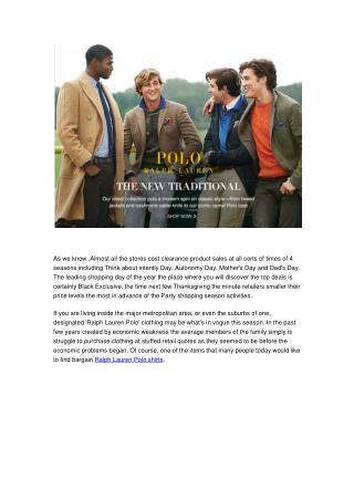 Cheap Discount Ralph Lauren Polo Shirts At BrandsWeekend.su