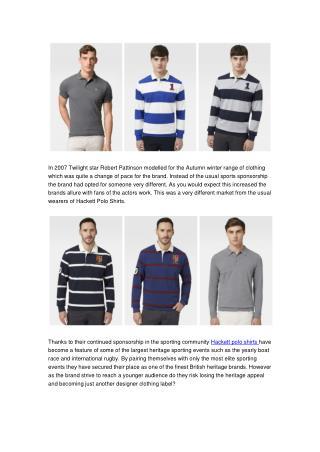 Wholesale Hackett Mens Polo Shirts At BrandsWeekend.su